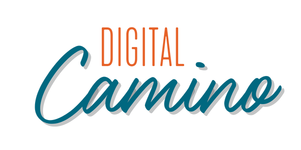 Digital Camino Logo Orange for White Bac