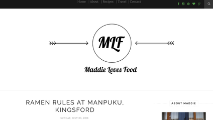 The Latest Kingsford review by Maddie Loves Food