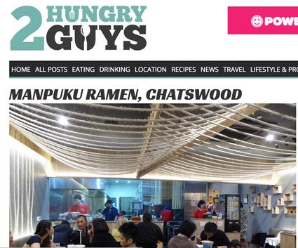 2 Hungry guys at Chatswood!