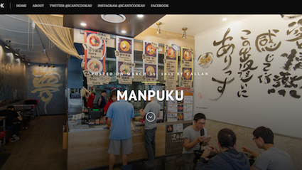 Manpuku Kingsford have been introduced by I can't cook!