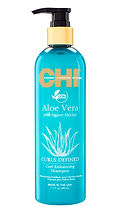 CHI Aloe Vera Curl Enhancing Shampoo 11_