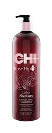 CHI Rosehip Oil Protecting Shampoo 25oz.