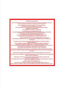 Hershey Wrapper - My Design - Inside Wra