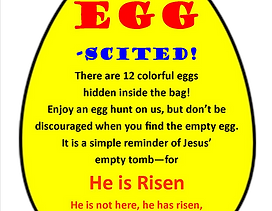 Get Egg-scited Front - Yellow - Version