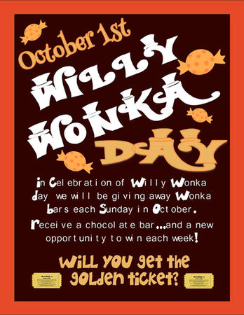Willy Wonka Day - October 1st - Flyer.jp