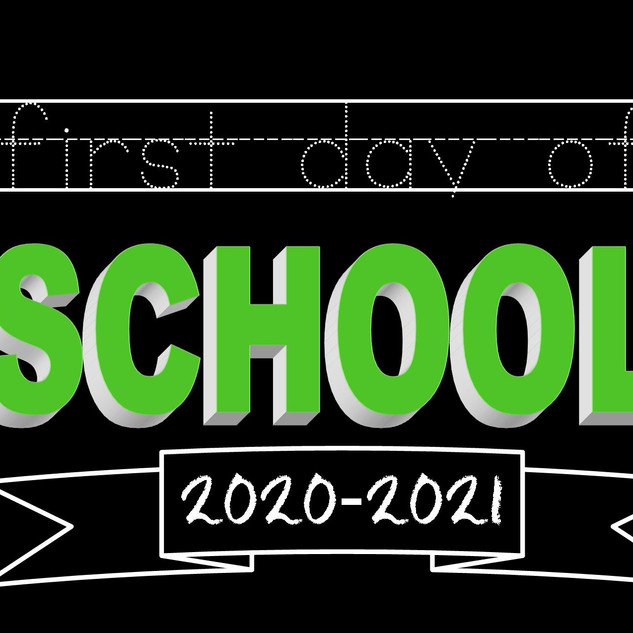 First Day of School - No CR - My Design.