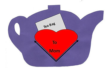 Mothers Day Craft - Tea Pot Sample Pictu