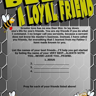 Bee a Loyal Friend - Worksheet.jpg