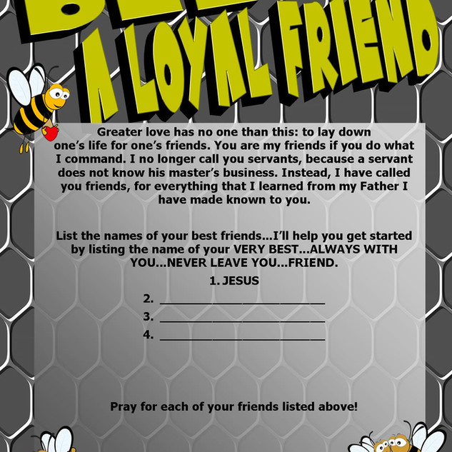 Bee a Loyal Friend - Worksheet.jpg