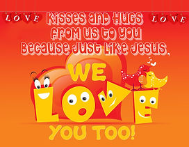 Kisses and Hugs Flyer - Us and We... Lov