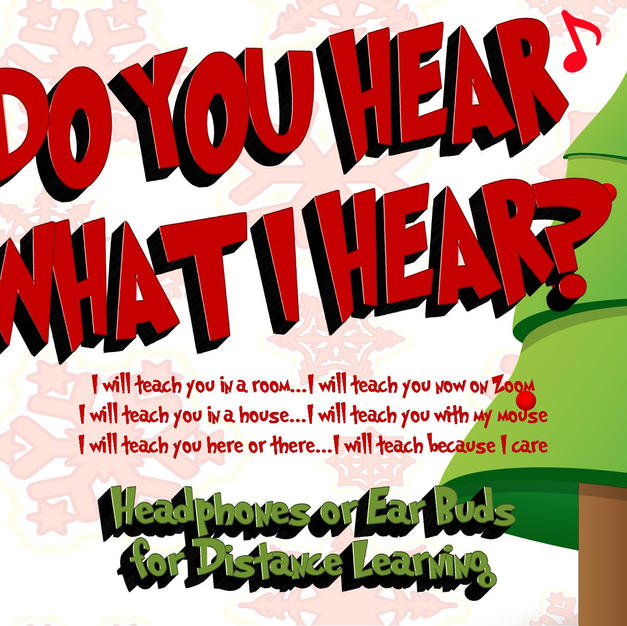 Do You Hear What I Hear - Flyer - Slide.