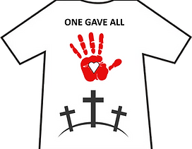 T-SHIRT SAMPLE - ONE GAVE ALL.png