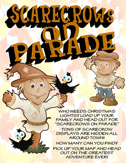 Scarecrows on Parade Flyer Front - Stepp