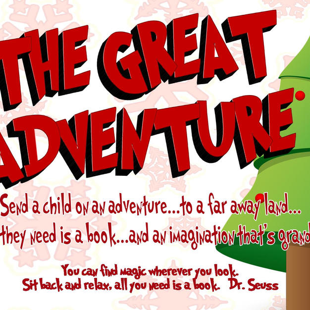Book Drive - Great Adventure - Flyer - S