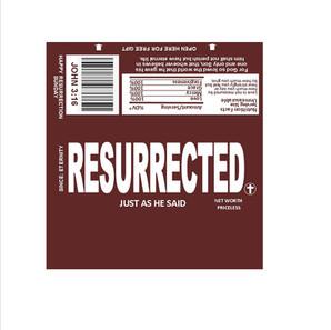 Hershey Wrapper - Resurrected - English.