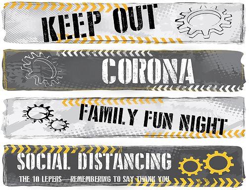 Keep out Corona