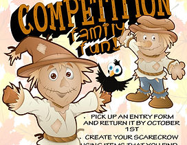 Scarecrow Competition Flyer - Stepping O