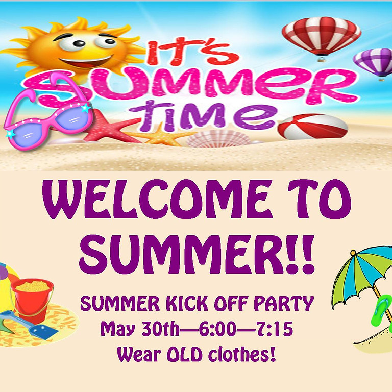 Welcome to Summer - Messy Fun Night (1)