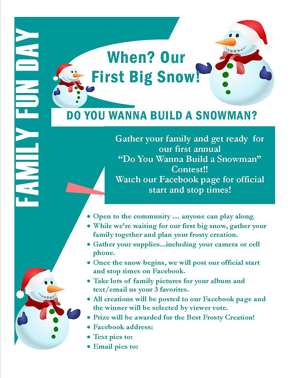 Do You Wannt Build A Snowman - Family Ev