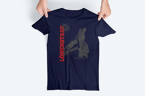 T-Shirt Home of the Lion, Navy