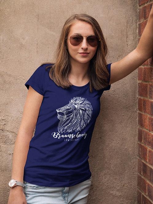 Damen T-Shirt Audrey, Navy