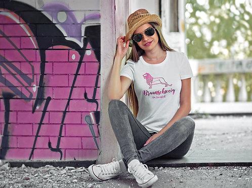 Damen T-Shirt Burlöwe