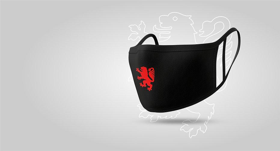 Löwen Braunschweig Maske Behelfsmaske Mu