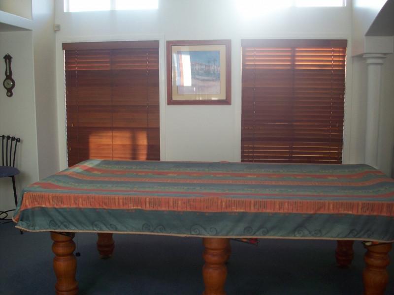 Cedar Venetians - Ontrax Curtains Pty Lt