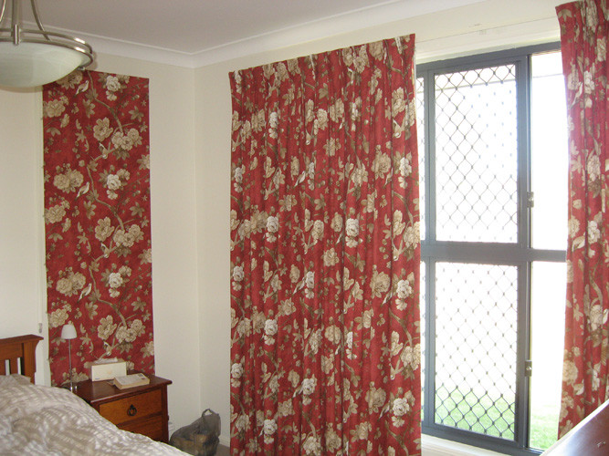 Floral Curtains - Andersons Window Furni
