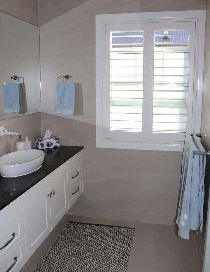 Bathroom Shutters - Redcliffe Curtain Wo