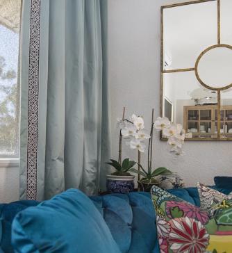 Curtains Lounge - Estelle Elliott Design