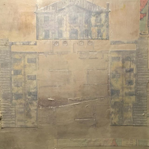 An Architectural Drawing. Picton Court House