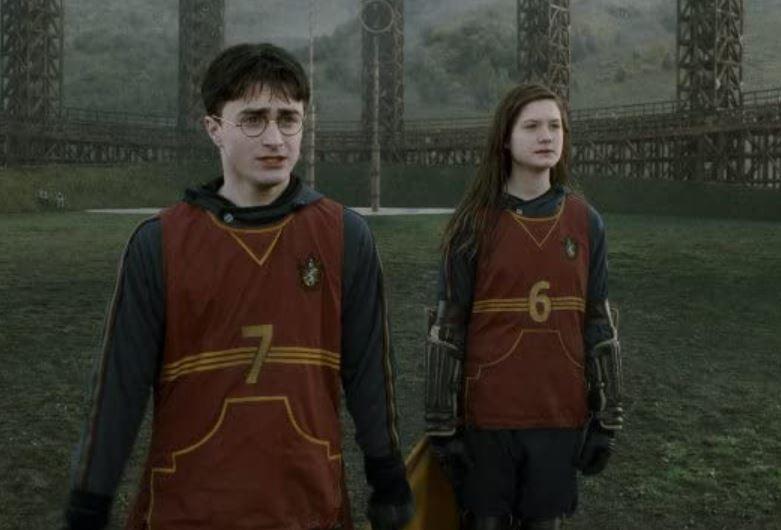 Gryffindor Quidditch Uniform (credit: Warner Bros)