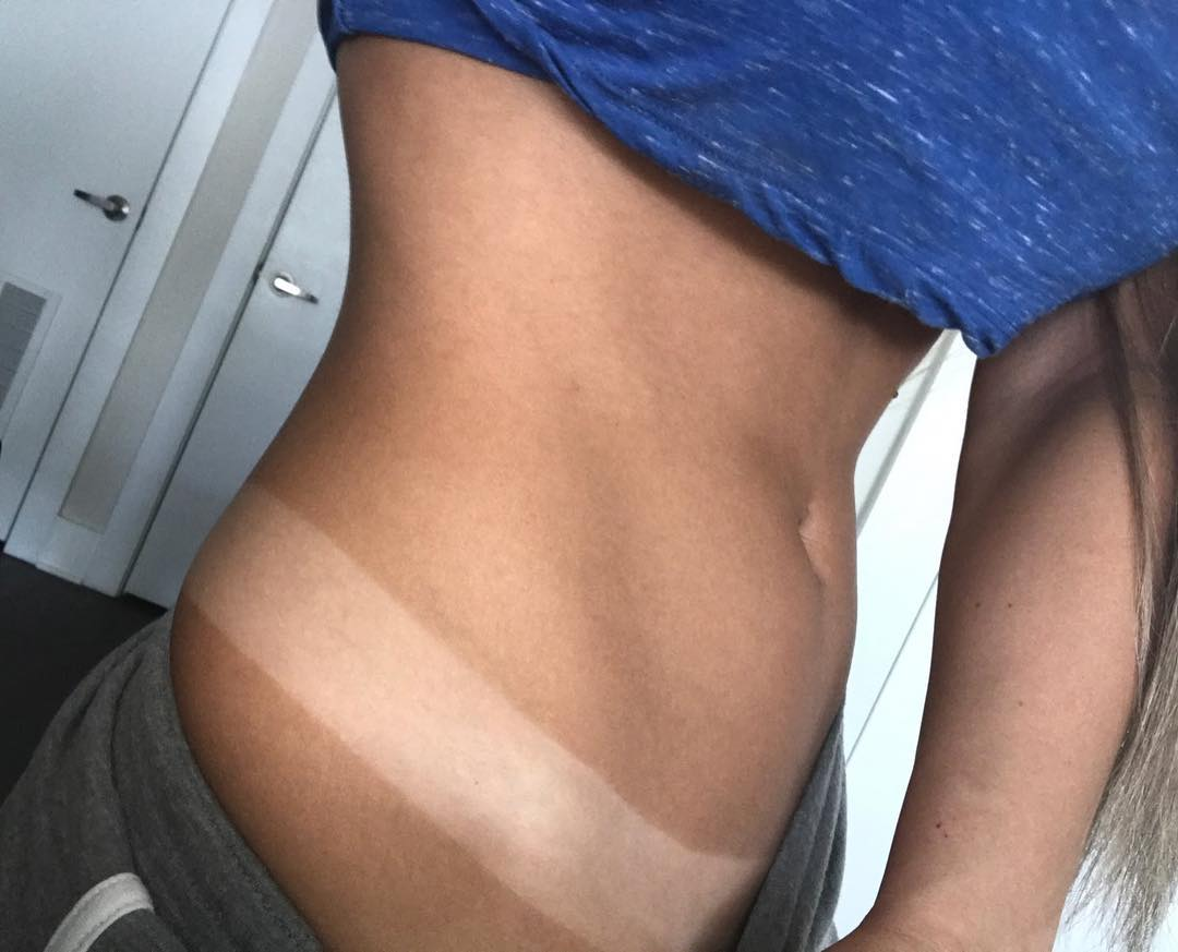 Golden Goddess spray tan