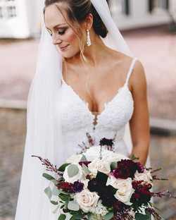 Another happy bride wearing my spray tan