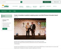 MLA Innovation Award June 2021