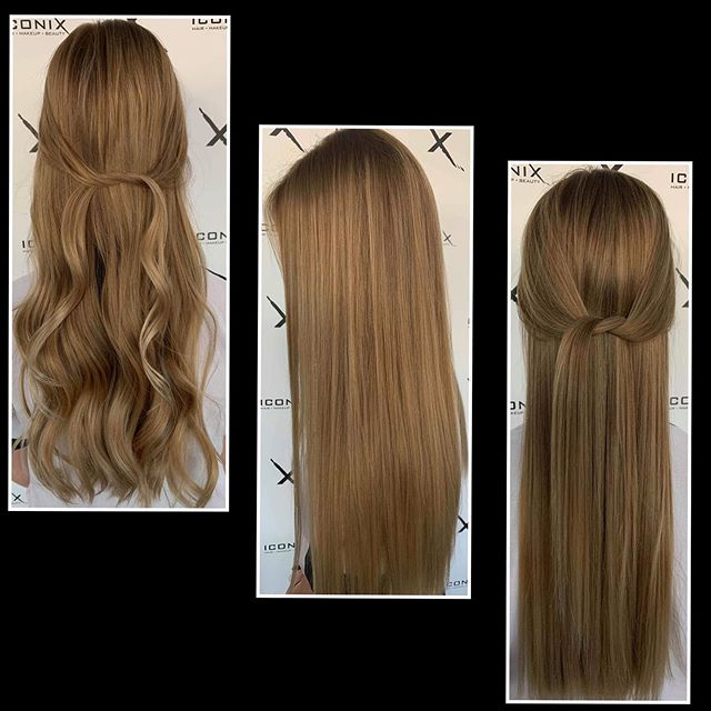 Such gorgeous hair! Natural tones of liv