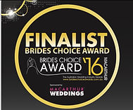 Brides Choice Awads Finalist