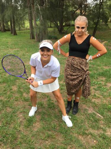 Jungle Woman and Tennis Player