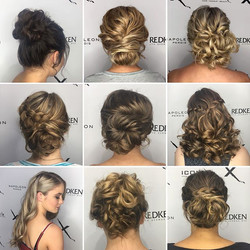 Some of our formal hairstyles! Such tale