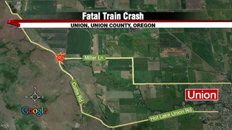 Three people dead after train collision