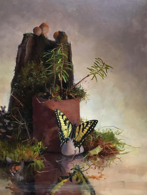 Yellow Swallowtail Buterfly