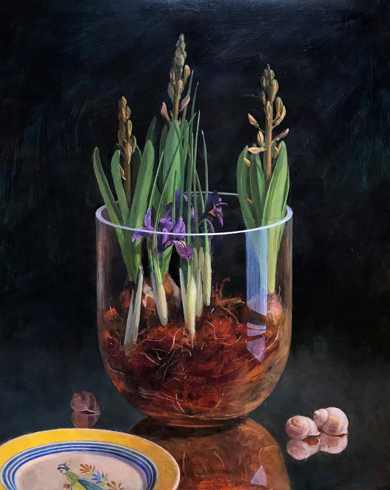 Terrarium with Spring