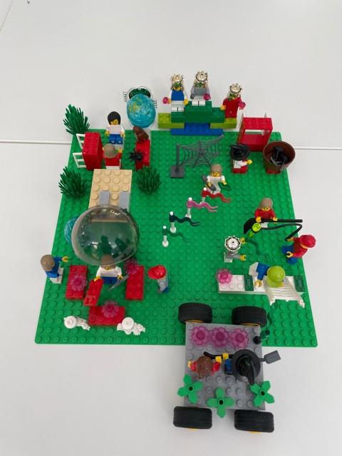 Elargir les horizons grâce à des ateliers facilités par  LEGO® SERIOUS PLAY® Method