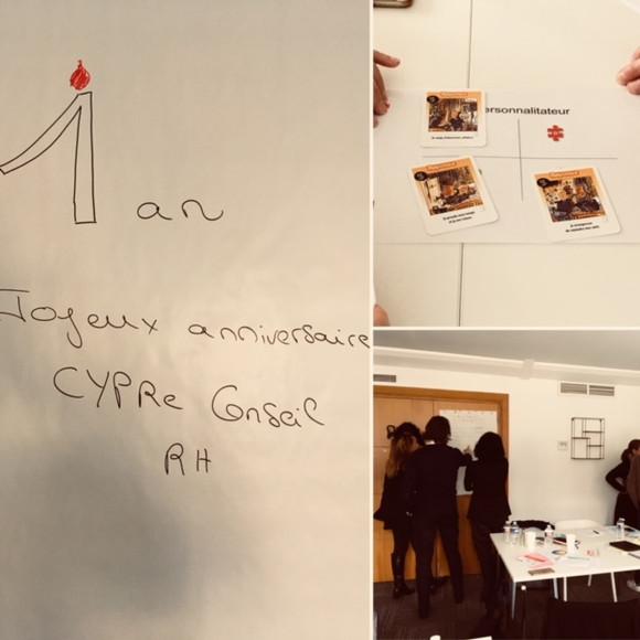 1 an ... déjà :o) Joyeux anniversaire CYPRe Conseil RH