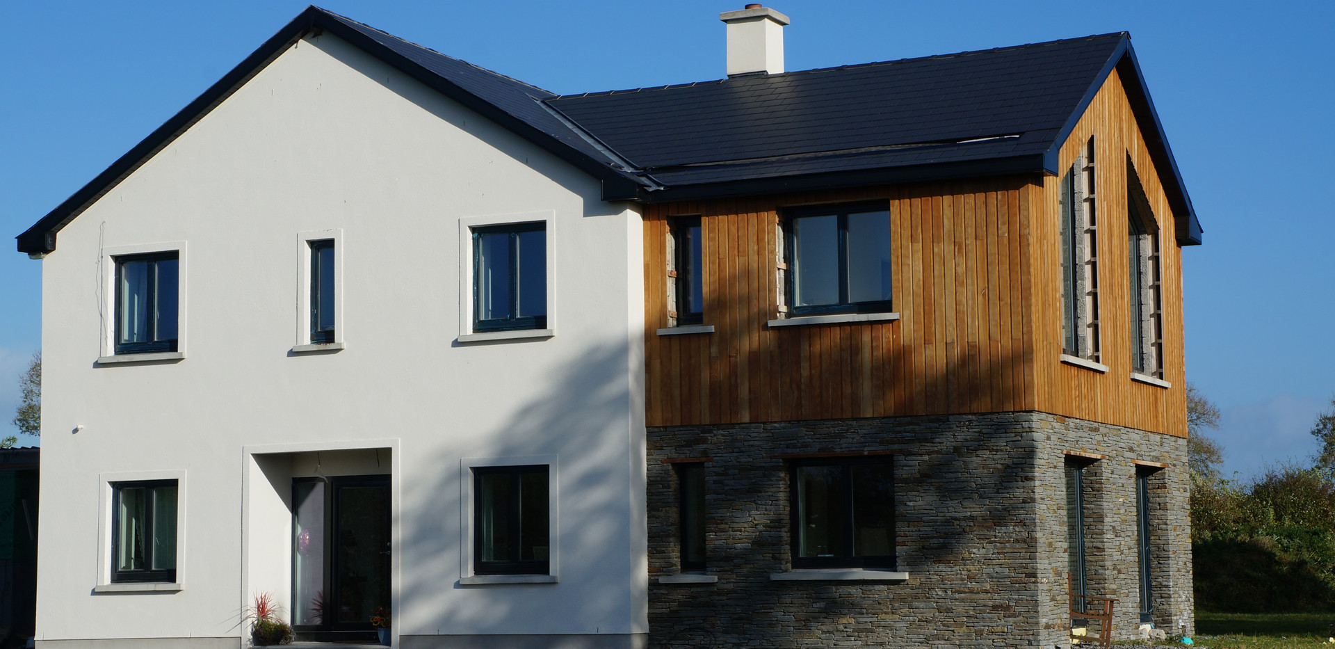 Passive House, Larch Cladding