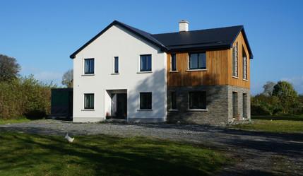 Passive House, Larch Cladding
