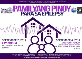 18th National Epilepsy Awareness Week