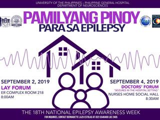 18th National Epilepsy Awareness Week