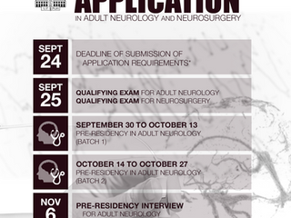 Residency and Fellowship Application 2019
